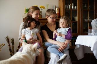 I, Ewa, Zuzanna, Weronika and Mikky in 2009